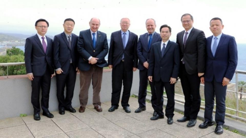 Visita do Presidente do Porto de Xiamen