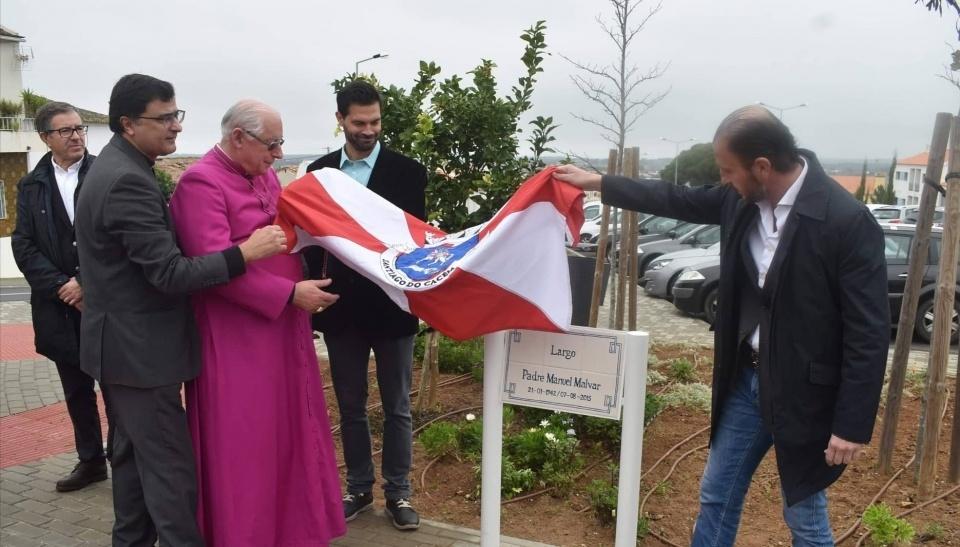 Homenagem Padre Manuel Malvar