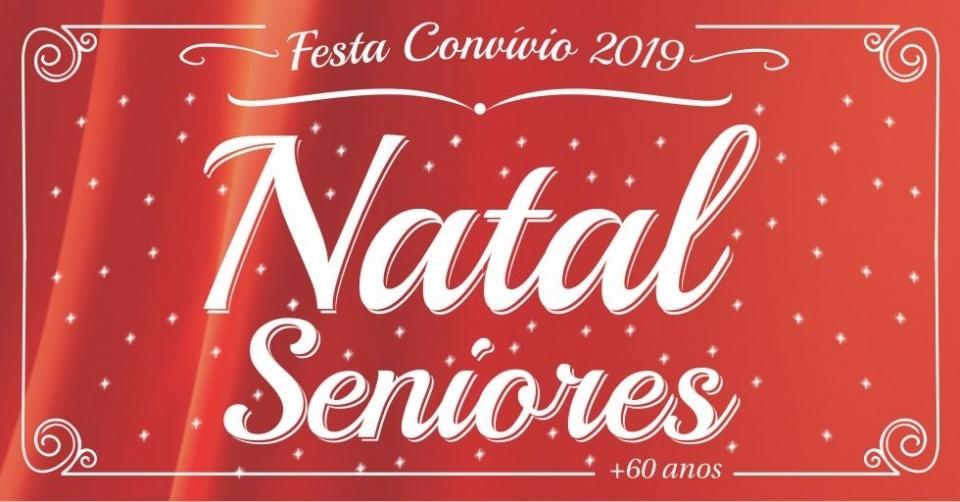 Natal Seniores - Cartaz