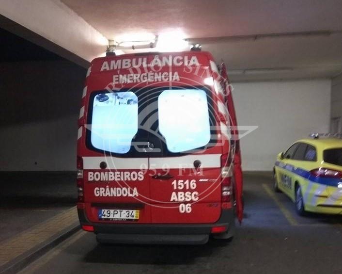 Ambulância dos Bombeiros de Grândola