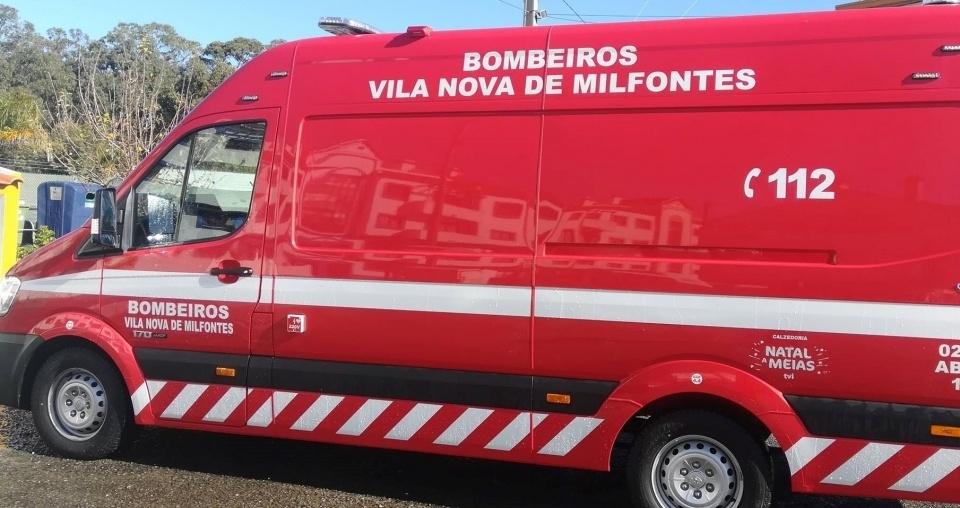 Viatura dos Bombeiros de Vila Nova de Milfontes