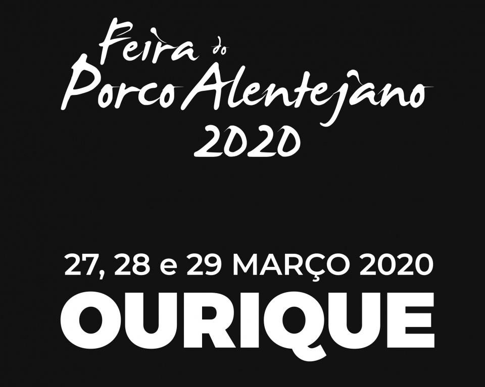 Feira do Porco Alentejano - Ano de 2020