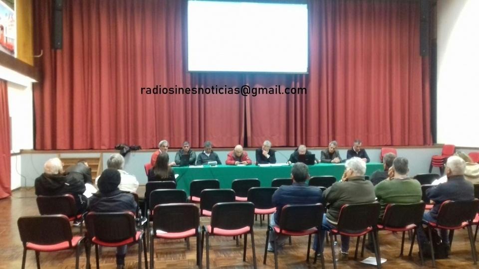Assembleia da Associação de Bombeiros de Sines