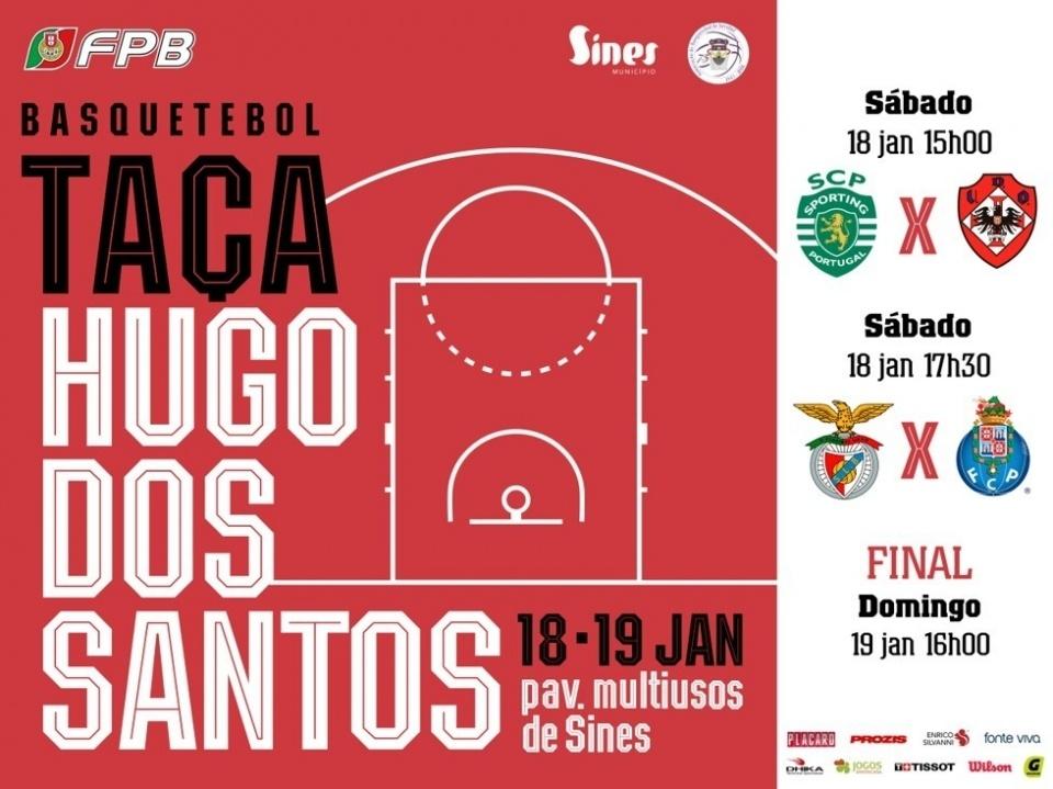 Cartaz Taça Hugo dos Santos