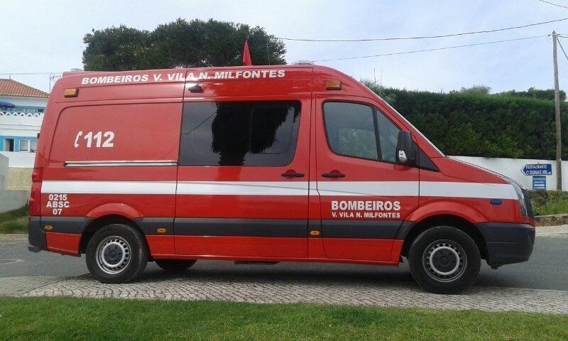 Ambulância Vermelha de Vila Nova de Milfontes