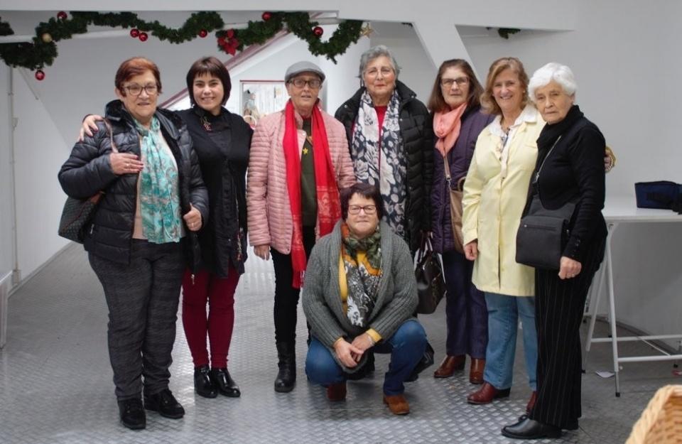 Voluntárias dos espaços seniores de Sines e Porto Covo