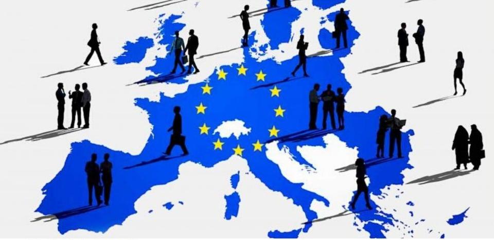 "Cartaz ""Europa para os Cidadãos"""