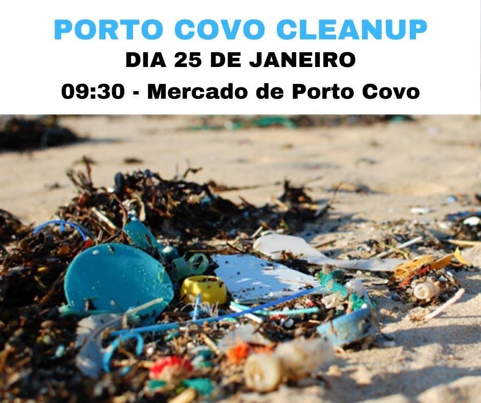 Limpeza de praias em Porto Covo