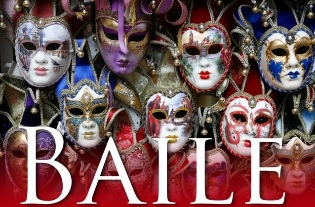 Cartaz Baile de Máscaras sénior 2020