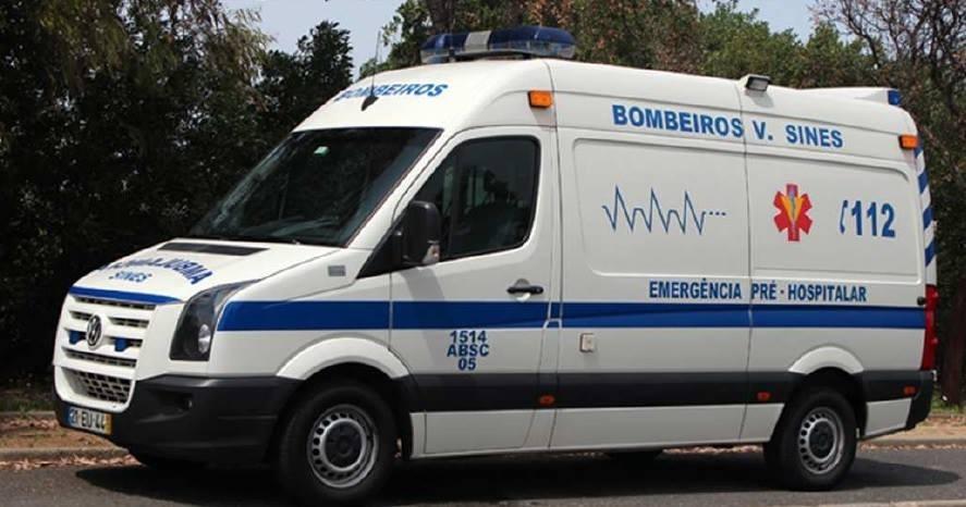 Ambulância dos Bombeiros de Sines