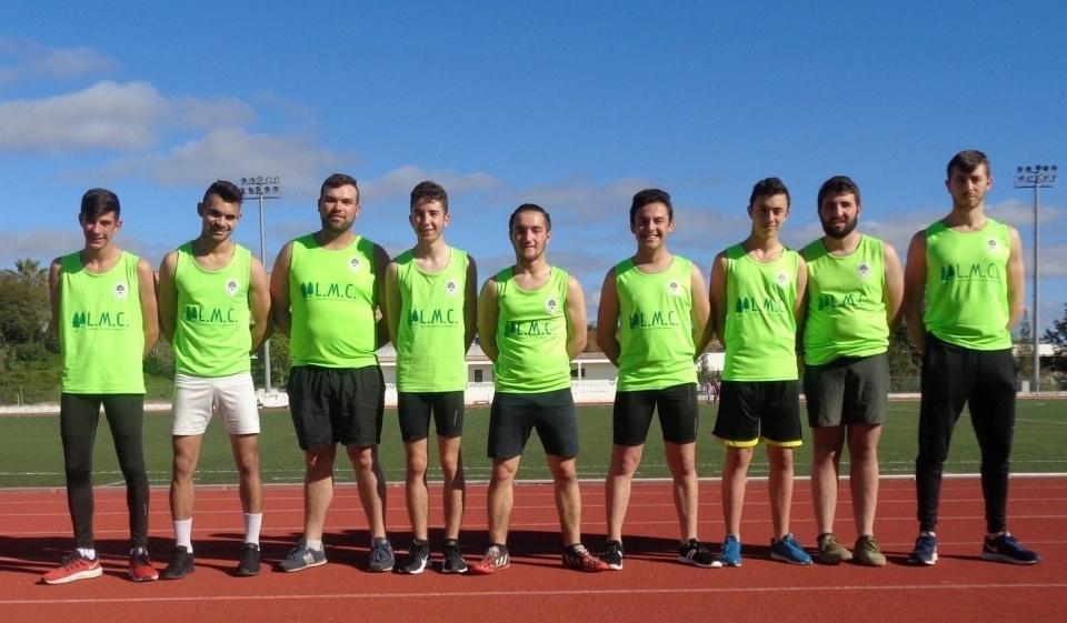 Equipa de atletismo da Casa do Povo de São Luís