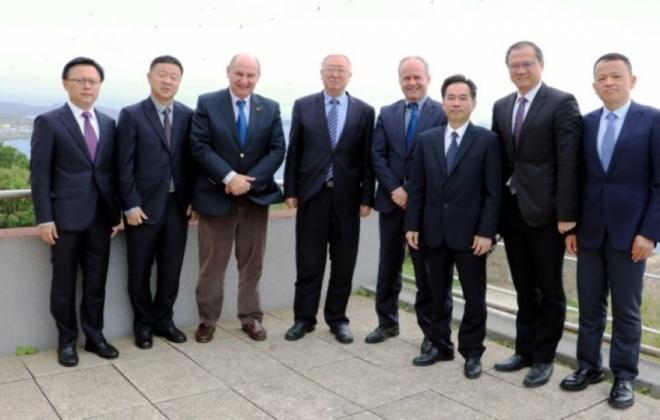 Porto de Sines recebeu Presidente do Porto de Xiamen
