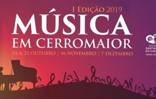 """""""Música em Cerromaior"""" encerra sábado temporada em Vila Nova de Santo André"""
