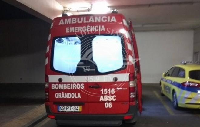 Colisão provoca ferimentos a dois militares da GNR em Grândola