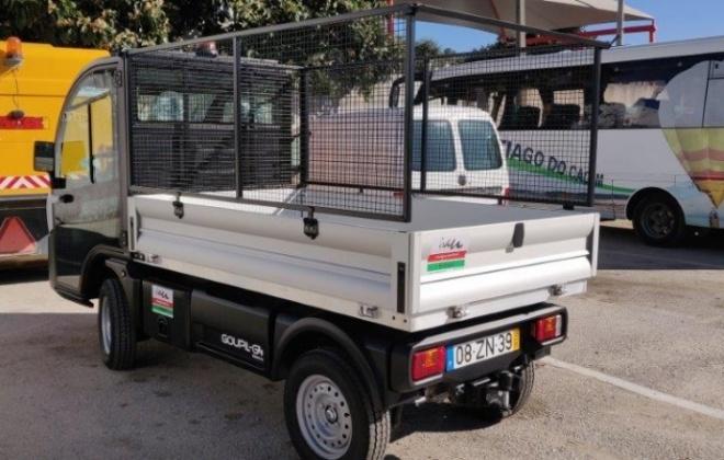 Santiago do Cacém aposta em viatura elétrica para limpeza urbana