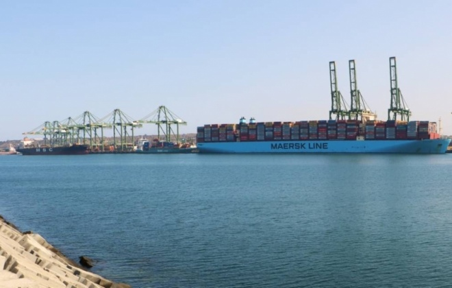 Sines lidera quebras de mercadorias nos portos portugueses