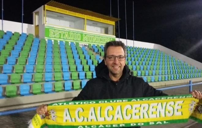 Luís Chainho é o novo treinador do Atlético Clube Alcacerense