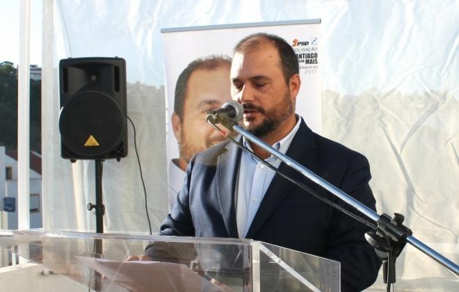 Luís Santos foi eleito presidente do PSD de Santiago do Cacém