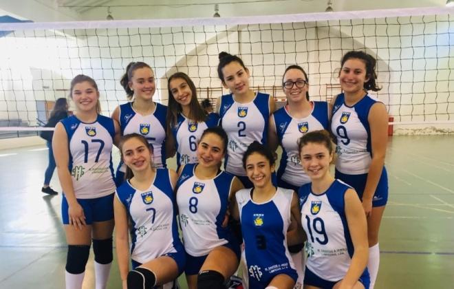 Resultados das equipas de Voleibol do Ginásio Clube de Sines
