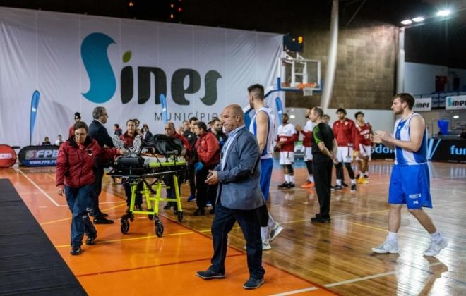 O basquetebolista Betinho Gomes já teve alta hospitalar e fica com a equipa do Benfica em Sines
