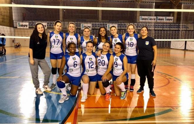 Voleibol do Ginásio Clube de Sines vence todos os jogos