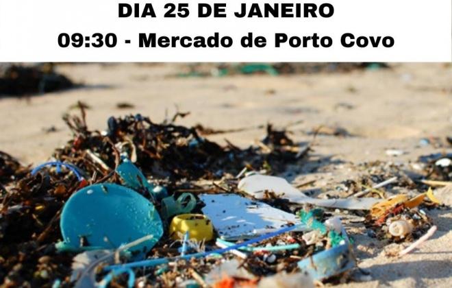 Porto Covo recebe uma ação de limpeza de praia neste sábado