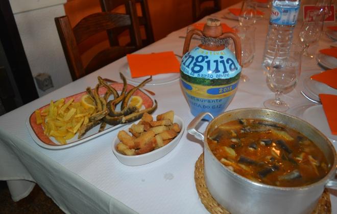 Enguia é o prato principal em Festival na Lagoa de Santo André até 9 de fevereiro