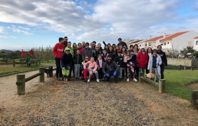 Praias de Porto Covo receberam ação de limpeza