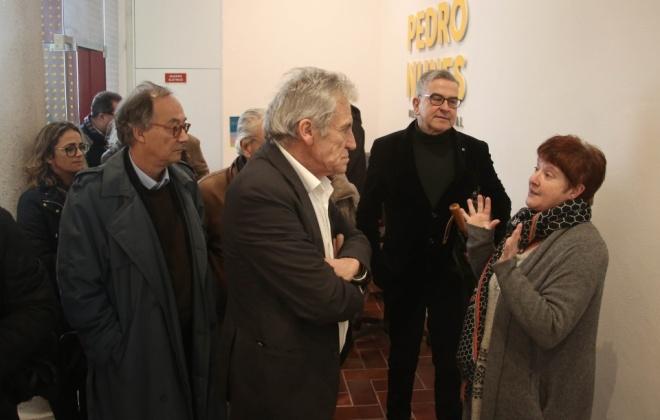 Jerónimo de Sousa visitou obras municipais em Alcácer do Sal