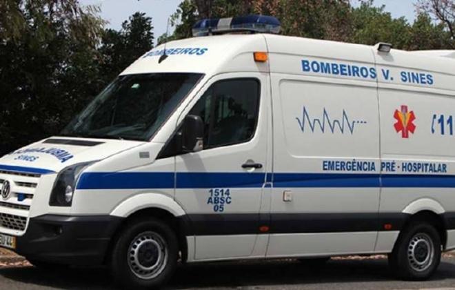 Despiste provoca ferido ligeiro no IC33 em Santiago do Cacém