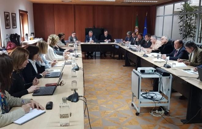 Vítor Proença presente em reunião na CCDRA com Ministra da Coesão Territorial