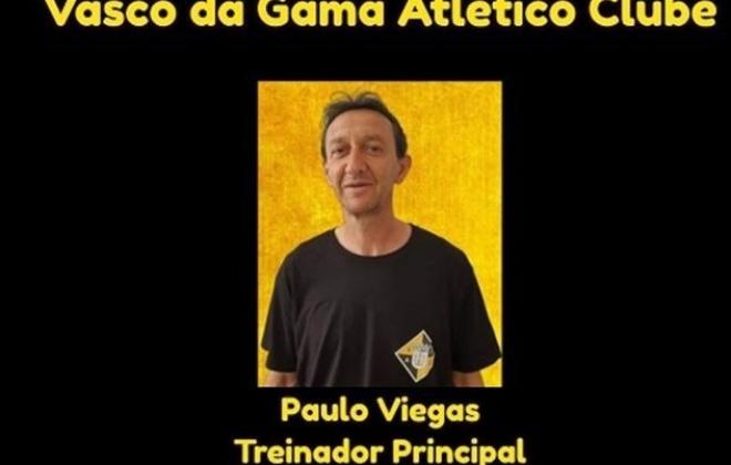 João Paulo Viegas é o novo treinador do Vasco da Gama