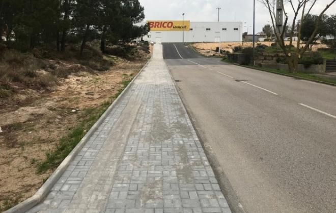 Junta de freguesia conclui passeio na Rua dos Navegantes e Rua da Lusofonia em Vila Nova de Santo André