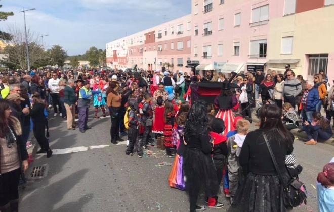 Carnaval das Escolas anima concelho de Santiago do Cacém na sexta-feira