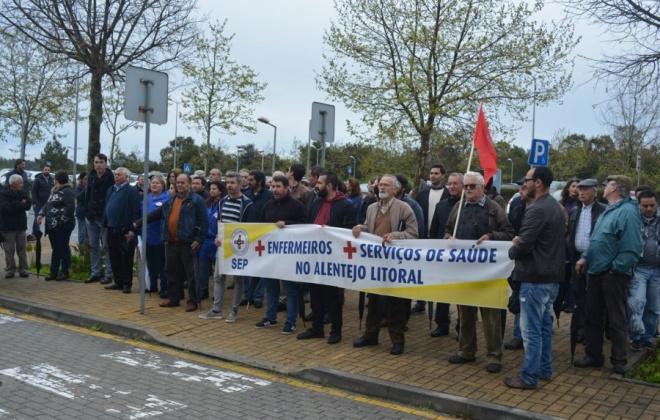 Escassez de cuidados de saúde no Litoral Alentejano leva à realização de protesto em Lisboa