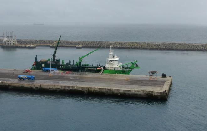 Porto de Sines estreia-se em operações de bancas com gás natural