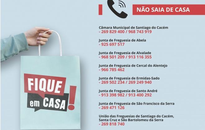 Autarquia de Santiago do Cacém apoia população idosa e mais vulnerável