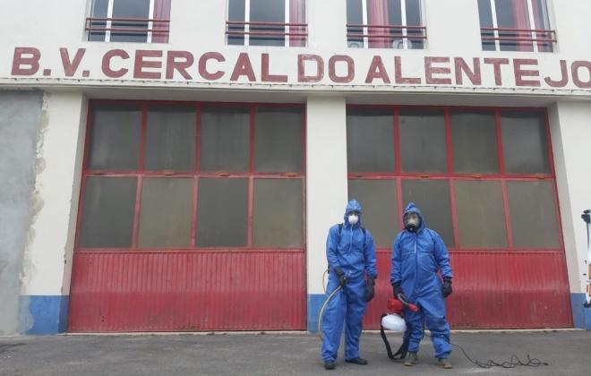 Santiago do Cacém promove higienização de Lares e quartéis de Bombeiros