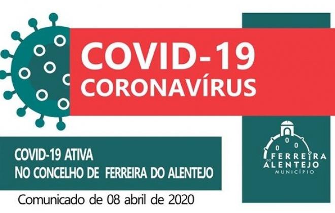 Ferreira do Alentejo conta com um caso positivo de COVID-19