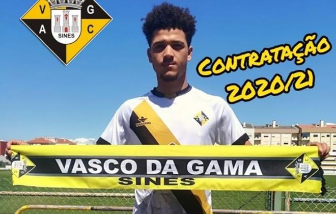 Vasco da Gama de Sines apresenta primeiro reforço para 2020-2021