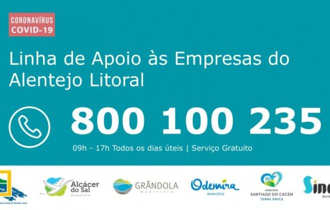Linha de apoio a empresas do Litoral Alentejano disponível a partir de amanhã