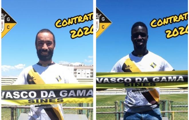 Vasco da Gama apresenta Paulo Duarte e Hélder Gomes como reforços para 20-21