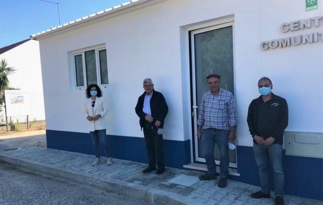 Está concluída a ampliação do Centro Comunitário de Água Derramada em Grândola