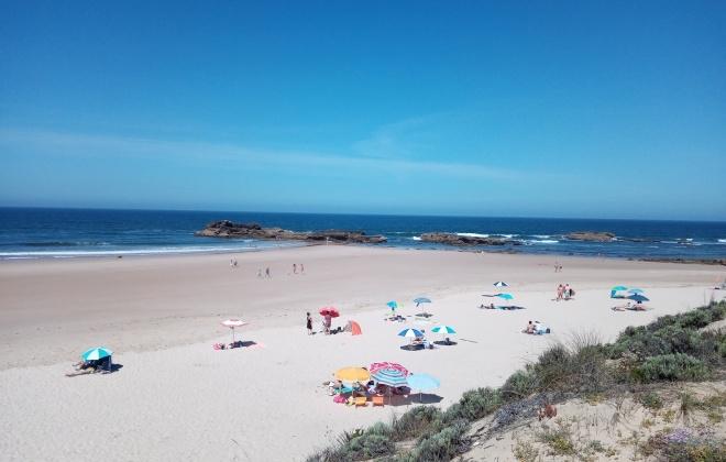 Dia de verão encheu praias do concelho de Sines