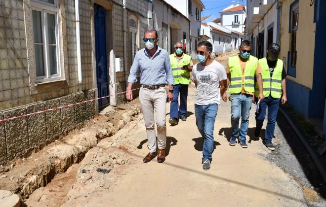 Cercal do Alentejo conta com várias obras em curso