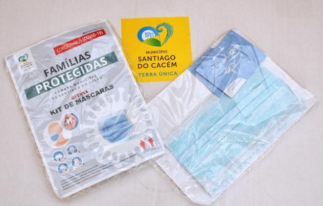 Câmara de Santiago do Cacém distribui máscaras sociais