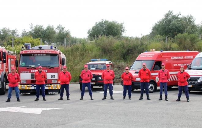 Município de Alcácer do Sal atribui subsidio de 6 mil euros aos bombeiros