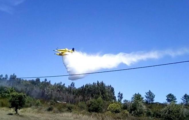 Está dominado o incêndio que deflagrou ontem em Aljezur