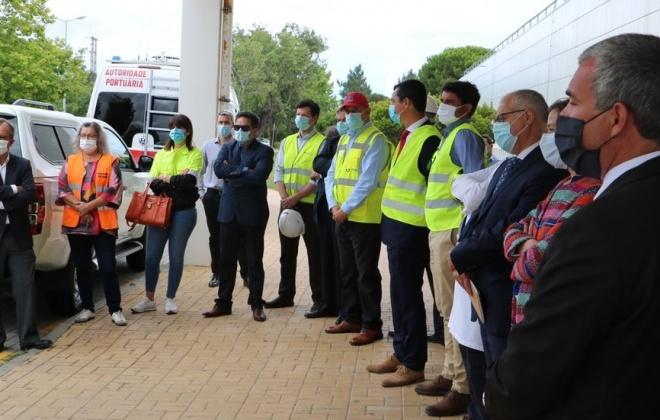 Empresas de Sines oferecem viatura 4X4 à Unidade Local de Saúde do Litoral Alentejano