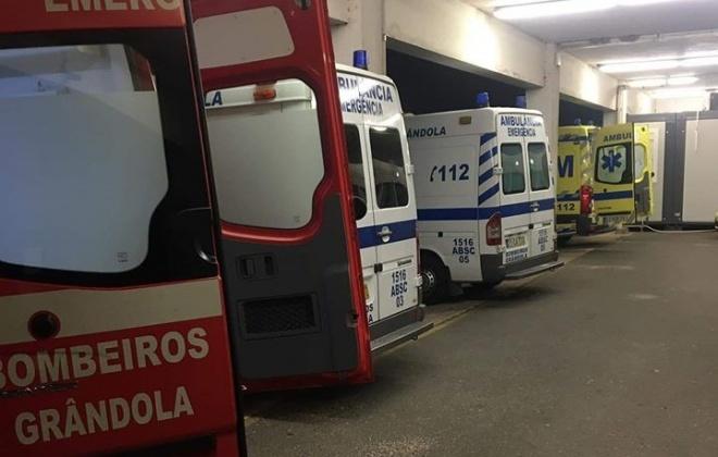 Três ciclistas sofreram ferimentos ligeiros no IC33, em Grândola